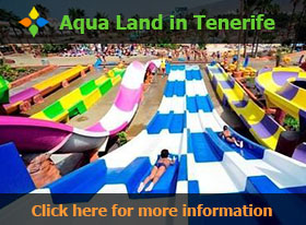 Slides at the Aqua Land in Tenerife - Click here for more information