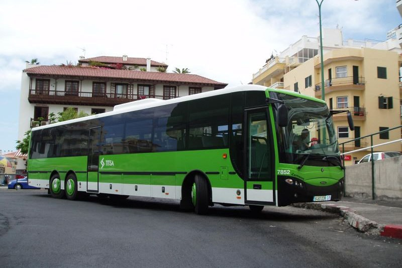 Tenerife buses timetables and routes - Transporte tenerife ...