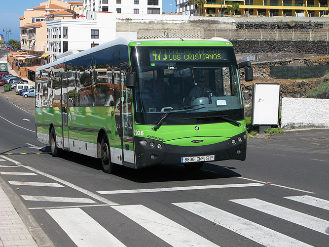 Tenerife Buses - Timetables and Routes