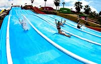 Crazy Race at Aqualand in Tenerife