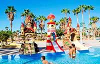 Fun Lighthouse at Aqualand in Tenerife