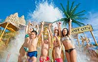 Lost City at Siam Park in Tenerife