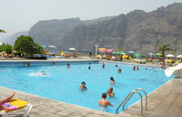 Oasis Public Swimming Pool in Los Gigantes - Tenerifee