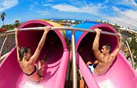 The Twister at Aqualand in Tenerife
