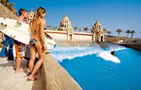 Wave Palace at Siam Park in Tenerife