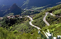 Road to Masca in Tenerife